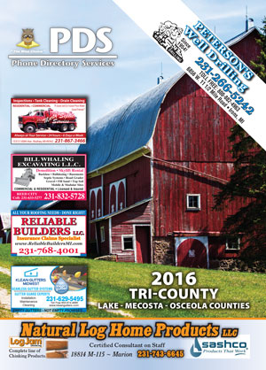 PDS Phone Book 2016 Tri-County Directory Cover